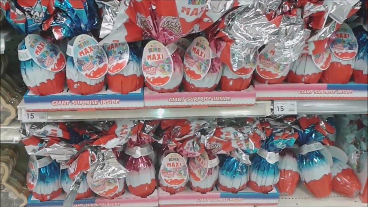 2016 easter toys at kmart kinder surprise eggs lindt bunny 2016 easter toys at kmart kinder surprise eggs lindt bunny frozen shopkins youtube negle Gallery