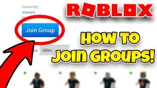 ROBLOX HOW TO JOIN A GROUP! | How to Leave a Group on Roblox | How to Join a Group on Roblox