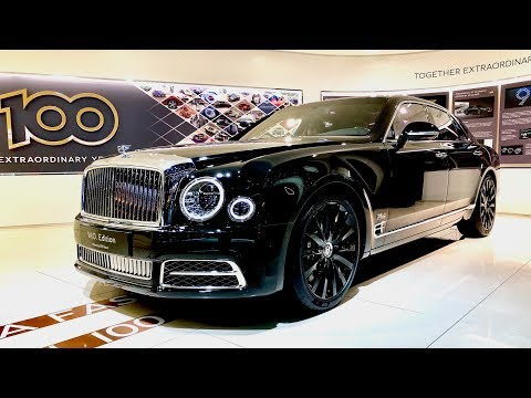 BENTLEY Mulsanne Mulliner - W.O. 100th - Full Review - Geneva Motor Show 2019