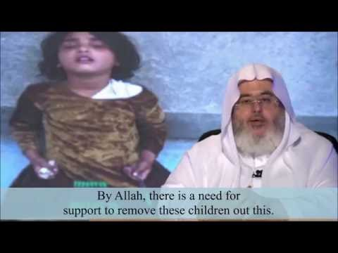 Little girl falls asleep while selling pens - Shaikh al Munajjid