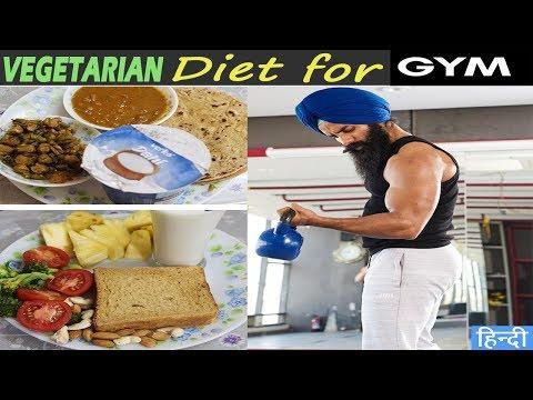 Full Day of Eating/Bulking||Vegetarian Indian Diet||Singh Daman