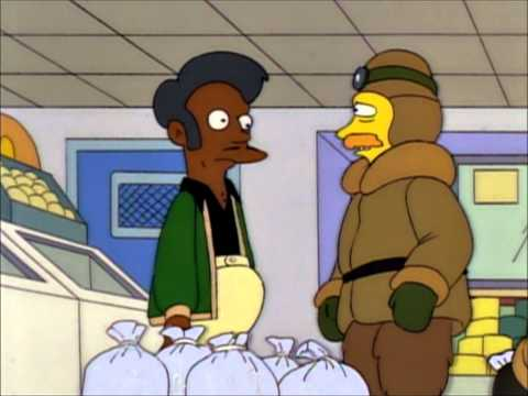 The Simpsons - Ice-Expedition