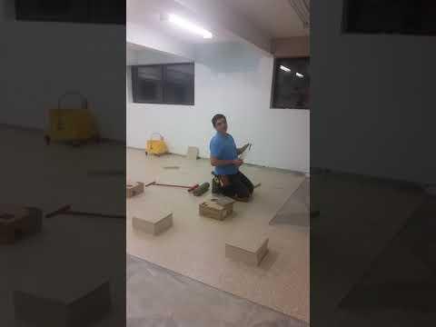 Vct tile installation toronto 416.732-7636