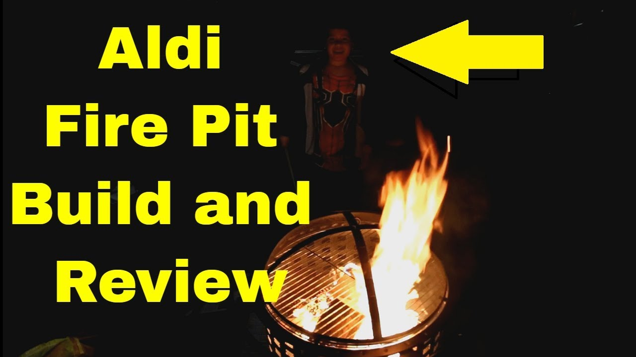 aldi fire pit reviews