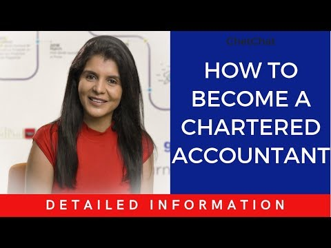 How to become a Chartered Accountant #ChetChat