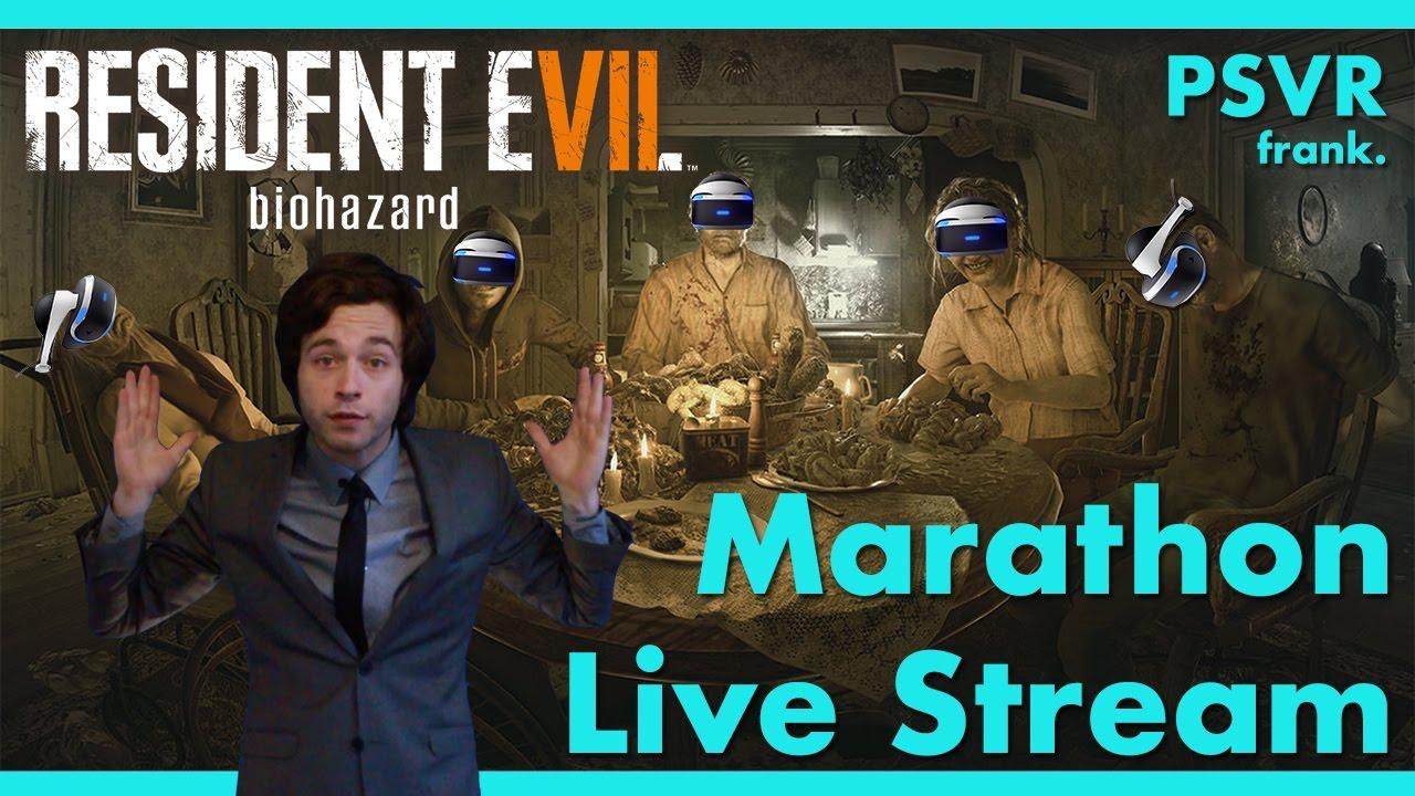 Resident Evil 7 Full Game In Vr Marathon Playthrough Youtube Ps4resident Reg 3
