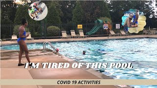 IM TIRED OF THE SWIMMING POOL
