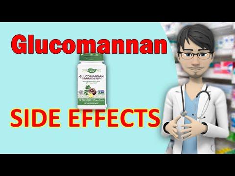 Glucomannan SIDE EFFECTS