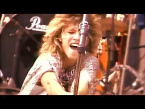 """""""RUNAWAY"""" Bon Jovi (SUPER ROCK JAPAN 1984) HD (new audio)"""
