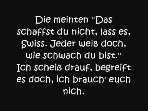 Swiss - Kopf hoch Lyrics
