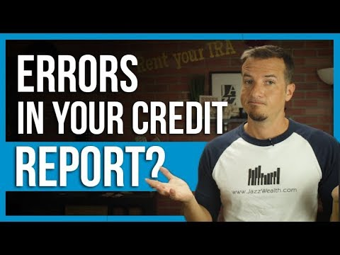 Guide To Errors On Your Credit Report: The Dough Show