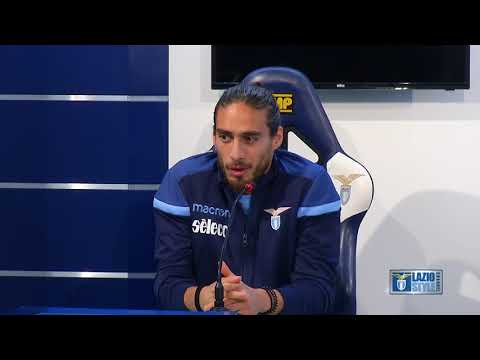 Martin Caceres in conferenza stampa