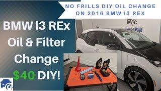 $40 DIY BMW i3 REx Oil & Filter Change (2016 MY)