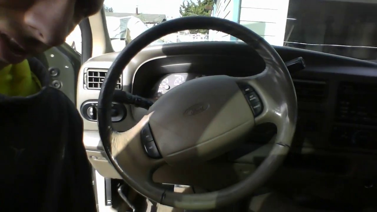 2016 Ford F250 >> straightening a steering wheel - YouTube