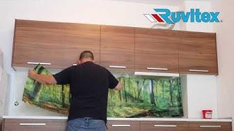 Монтаж на гръб за кухня Ruvitex 3D Decor