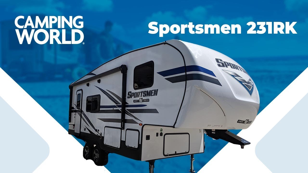 St Paul Sportsman Show 2020.2020 K Z Sportsmen 231rk 5th Wheel Rv Review Camping World