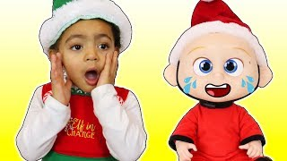 Miss Polly had a Dolly Song Christmas Version   Nursery Rhymes for Kids Songs