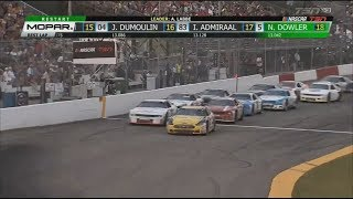 NASCAR Pinty's Series 2017. Edmonton International Raceway. Restart & Last Laps