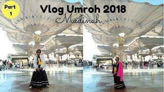 VLOG UMROH ♥ Perjalanan Panjang Menuju Madinah | Part 1