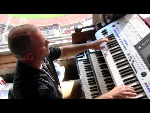 Stadium organist entering 8th season at GABP