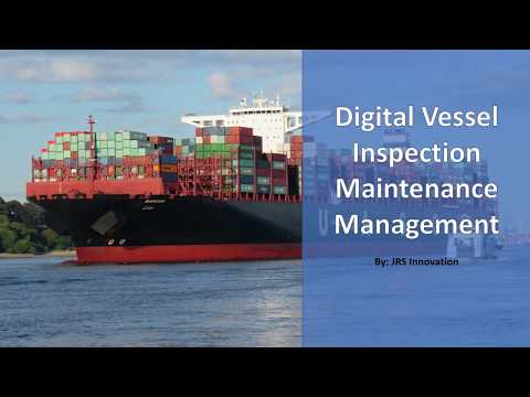 Vessel  - Digital Inspection & Maintenance