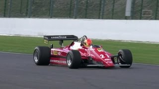 Flamethrower Ferrari F1 126C2 ex Gilles Villeneuve - EPIC!