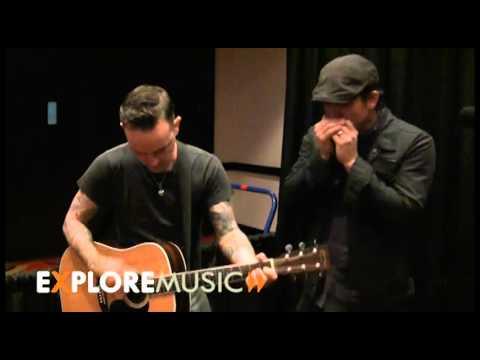 Chuck Ragan and Dave Hause perform for ExploreMusic at NXNE 2011