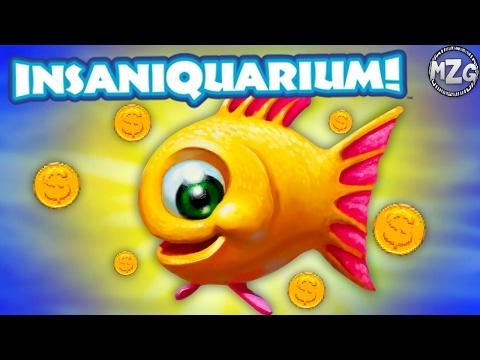 These Fish Poop MONEY!? - Insaniquarium Deluxe Gameplay - Episode 1