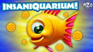 These Fish Poop MONEY!? - Insaniquarium Deluxe Gameplay - Episode 1