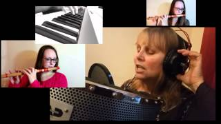 Silver Bells ★ Piano, Flute and Vocals Harmony ★ Christmas Carol