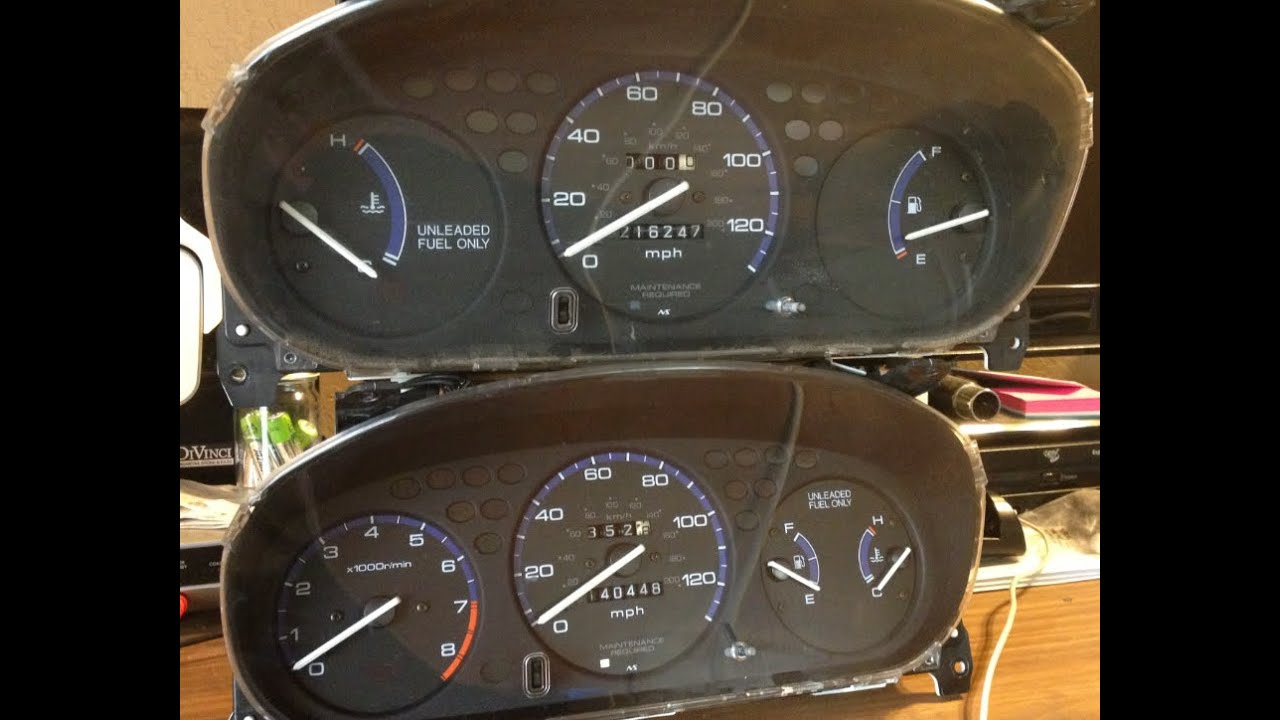 maxresdefault how to swap 96 00 civic with oem tachometer youtube  at pacquiaovsvargaslive.co