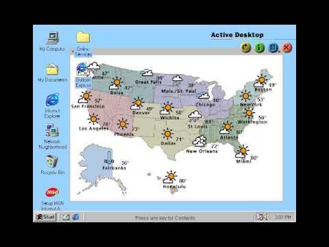 Windows 98 Tour by Microsoft