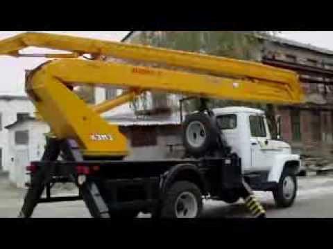 автогидроподъемник ВС-22.02 в работе
