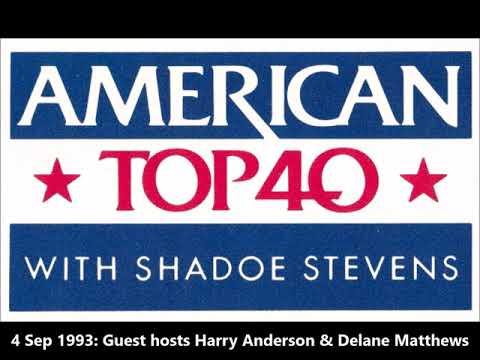 AT40: Guest Hosts Harry Anderson & Delane Matthews