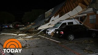 Suspected Tornado Leaves Path Of Destruction Near Dallas | TODAY