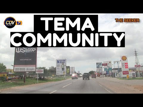 Experience Tema Community Drive - Greater Accra: Enjoy The Ride With The Seeker Ghana.