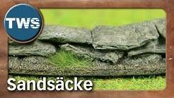 Tutorial: Sandsäcke / sandbags (Tabletop-Gelände, TWS)