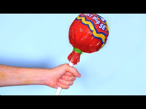 GIANT CANDY LOLLIPOP!