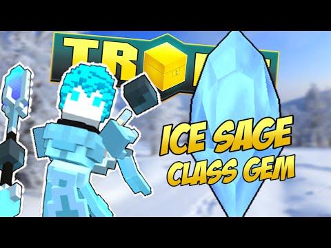 TROVE ICE SAGE CLASS GEM TUTORIAL & GUIDE ✪ Frost Nova!