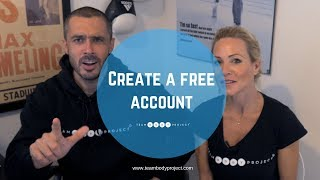 Create a FREE Team Body Project account