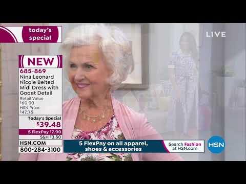 HSN | Nina Leonard Fashions 02.27.2020 - 11 AM