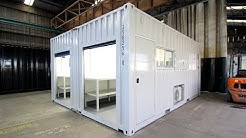 Shipping Container Laboratory with Joining Kit