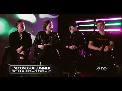5 Seconds Of Summer on Performing at the BBMAs
