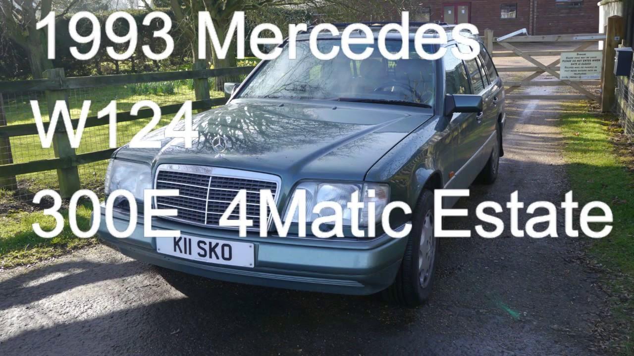 Mercedes 300E W124 Estate 4Matic problem solved !!