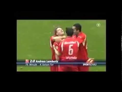 2008 Fortuna Düsseldorf - RW Oberhausen 3:0 | Tore: Christ, Lambertz, Cebe | Interview Norbert Meier