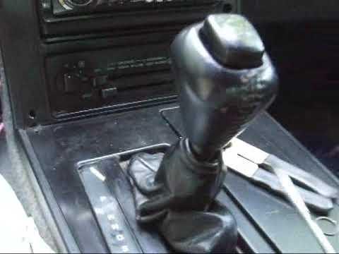 1984 Corvette Gear Shift Knob Removal