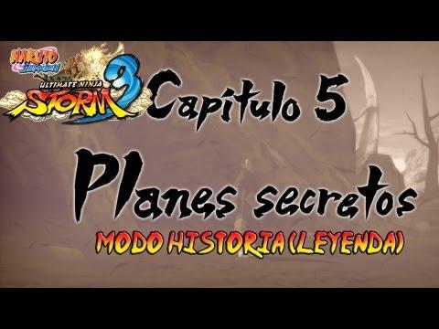 Naruto Shippuden: Ultimate Ninja Storm 3 Walkthrough + Full Burst - Parte 18 |Capitulo 5 Planes Secretos Gai Vs Kisame Gameplay Español/Japanese 1080p Xbox360/PS3