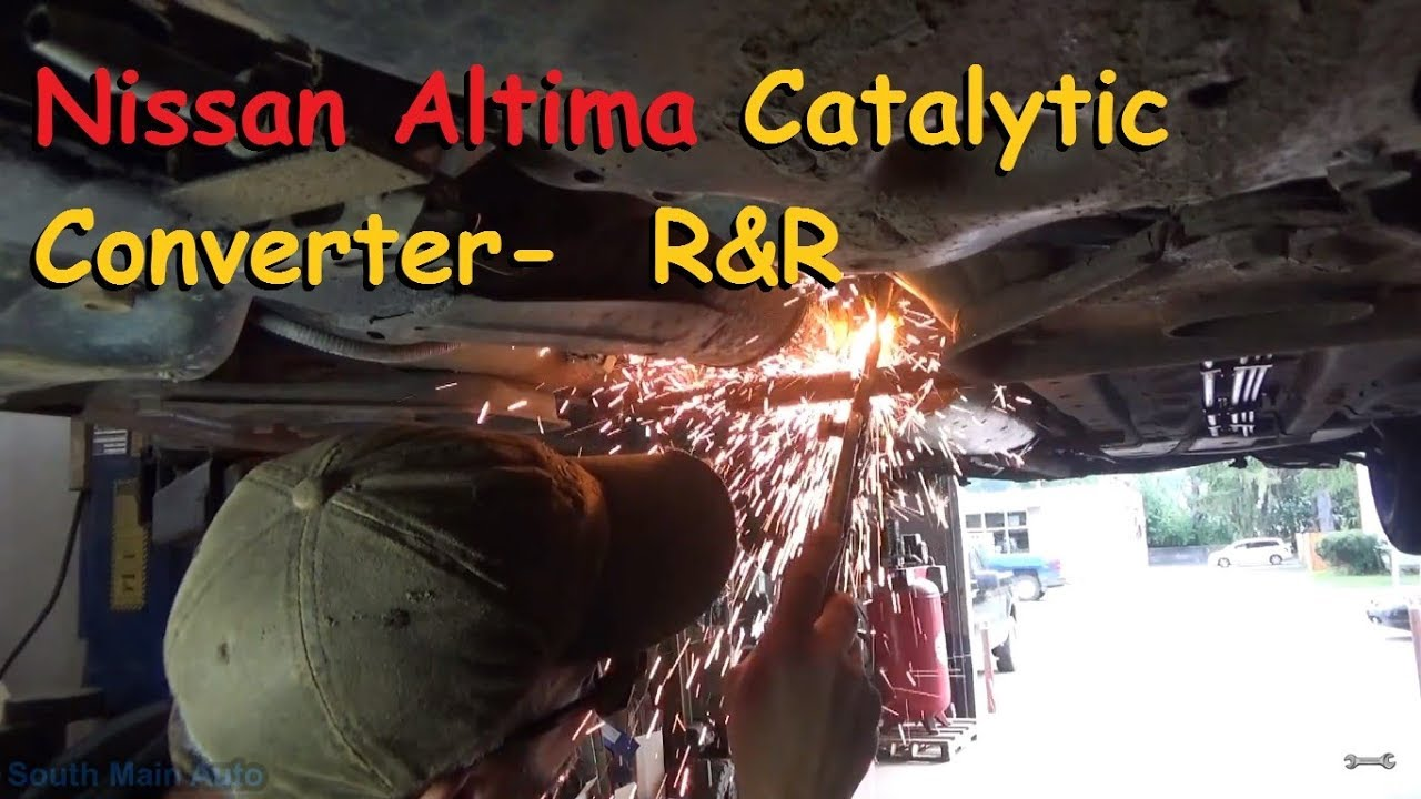 Awesome Nissan Altima Catalytic Converter   Replacement