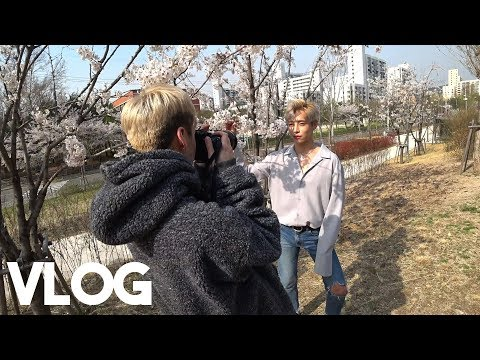 Filming Aoora's video + A famous kbbq place idols go on secret dates to hehe || Vlog