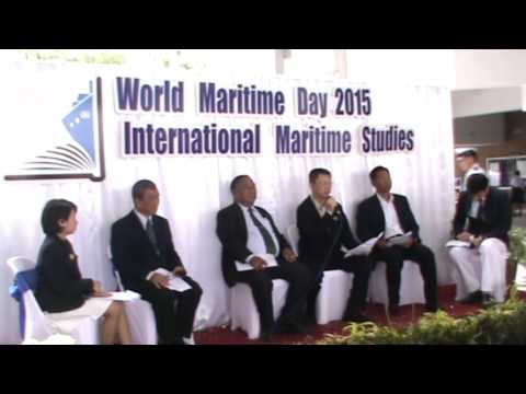 World Maritime Day 20 15  - Faculty of International Maritime Studies